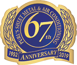 Purl's Sheet Metal & Air Conditioning's 65th Anniversary