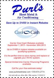 Cool Cash promo