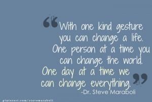 Dr. Steve Maraboli quote