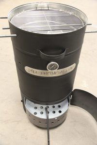 Custom BBQ Smoker Sheet Metal Fabrication
