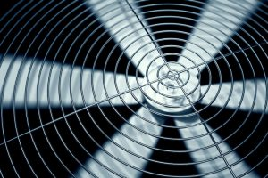 Spinning-fan-closeup